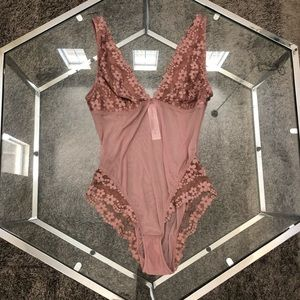 BRAND NEW laced body suit